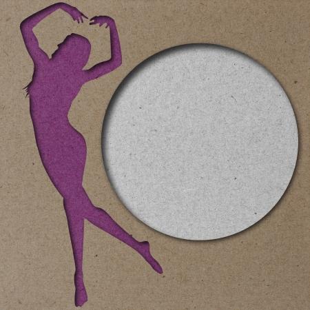 aerobic: Woman Background