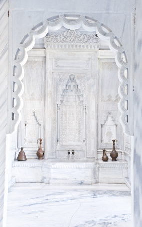 apses: Old Ottoman Turkish Bath Interior Editorial