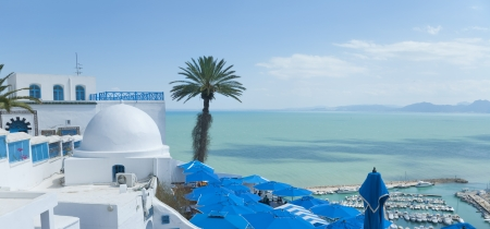 Sidi Bou Said, T�nez, T�nez photo