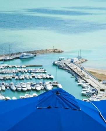 Sidi Bou Said Port, Tunis, Tunisia photo
