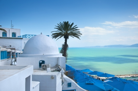 Sidi Bou Said, Tunis, Tunisia Stock Photo - 18658593