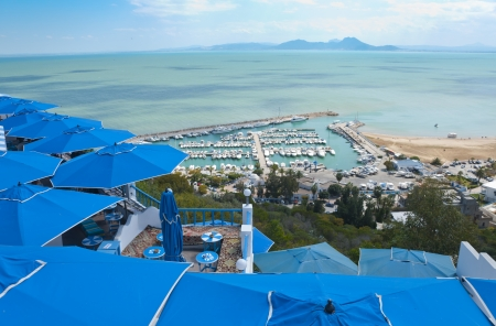 Sidi Bou Said Port, Tunis, Tunisia
