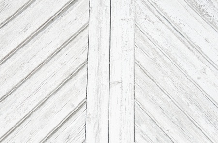White wooden panels background photo