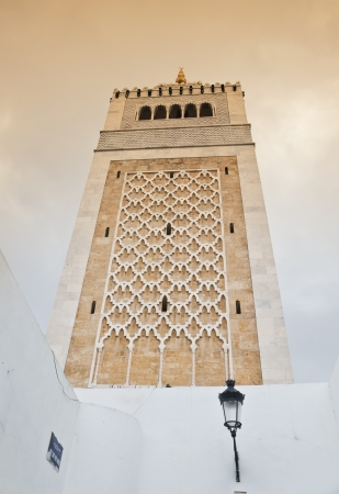 Mosque in tunis, Tunisia photo