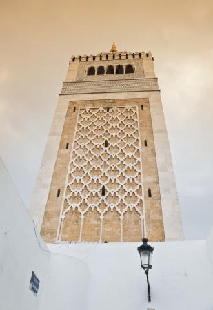 Mosque in tunis, Tunisia photo