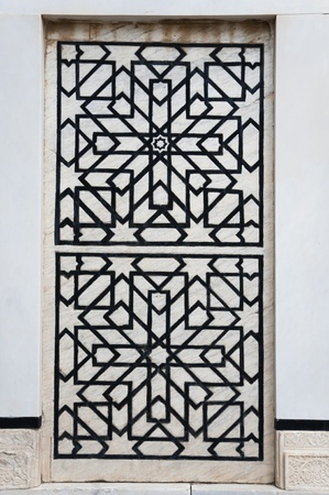 Oriental ornament photo