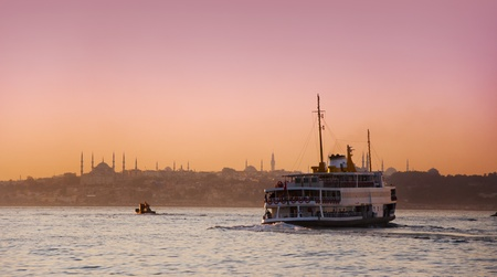 Istanbul sunset photo