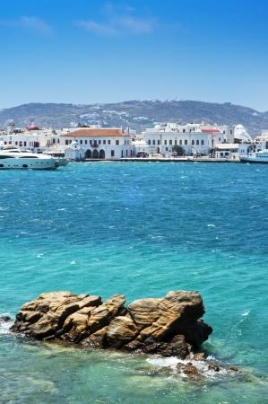 andros: Mykonos, Cyclades Islands, Greece Stock Photo