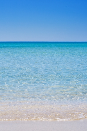 Blue seascape, summer holiday concept Stock Photo - 18887857