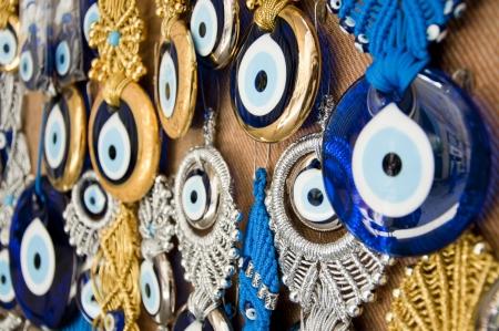 Turkish evil-eye beads, nazar boncugu Stock Photo - 18821948