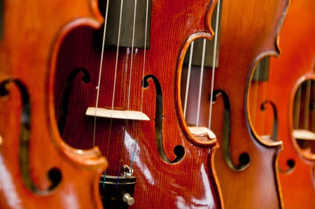 Violins and cellos Stock Photo - 18821953