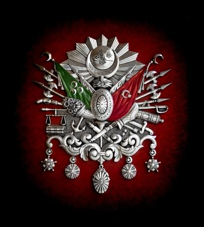 L'Empire ottoman manteau-de-bras symbole