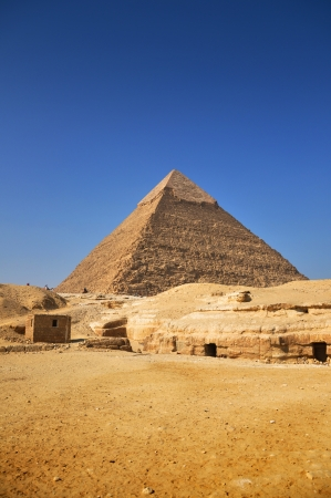 Pyramids of Giza, Egypt photo