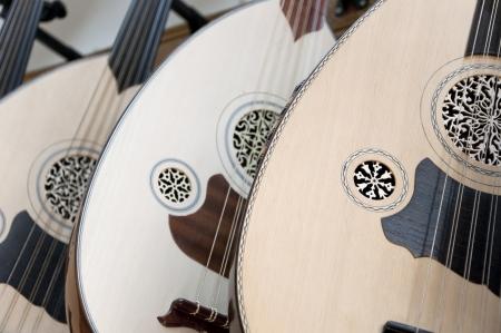 Turkish stringed instrument named ud or oud