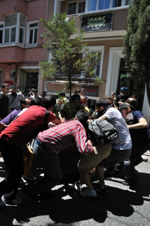 ISTANBUL, TURKEY - JUNE 1: Gezi Park Public Protest against the government