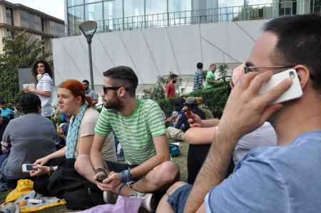 adverse reaction: ISTANBUL, TURKEY - JUNE 1: Gezi Park Public Protest against the government