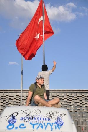 sedition: ISTANBUL, TURKEY - JUNE 1: Gezi Park Public Protest against the government