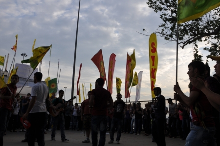 sedition: ISTANBUL, TURKEY - JUNE 6 2013: Gezi Park Public Protest against the government Editorial