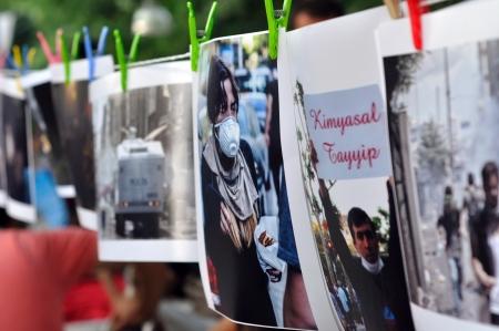 noncompliance: ISTANBUL, TURKEY - JUNE 9 2013: Gezi Park Public Protest against the government Editorial