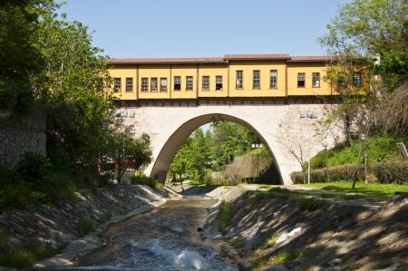 koprusu: Old Ottoman Bridge Irgandi Koprusu