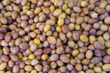 Gemlik type Turkish olives Stock Photo - 20421763