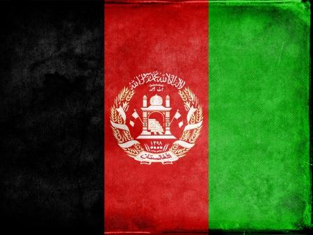 afghan flag: Grunge Afghan Flag Stock Photo