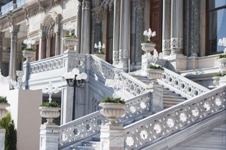 Ciragan Palace architectural detail, Istanbul - Turkey Stock Photo - 20658149