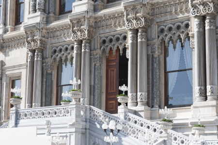 Ciragan Palace architectural detail, Istanbul - Turkey Stock Photo - 20658150