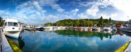 Yenikoy Harbor, Sariyer Istanbul - Turkey