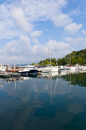 Yenikoy Harbor, Sariyer Istanbul - Turkey photo