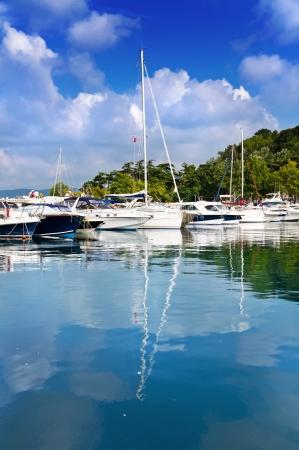 marmara: Yenikoy Harbor, Sariyer Istanbul - Turkey