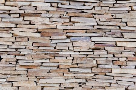 Natural stone wall texture photo