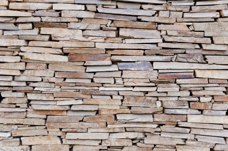 Natural stone wall texture photo