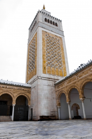 Zaytuna Mosque, Tunis, Tunisia photo
