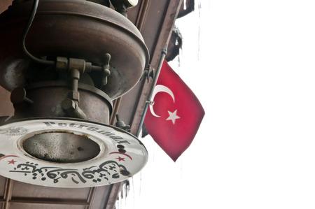 turk: Antique lantern from Ottoman Empire times