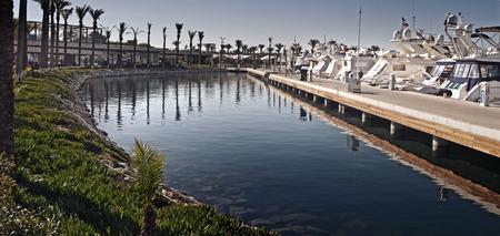 aegean sea: Yalikavak Marina, Bodrum, Turkey Editorial