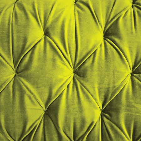 button tufted: Green button-tufted velvet photo-real vector background Stock Photo