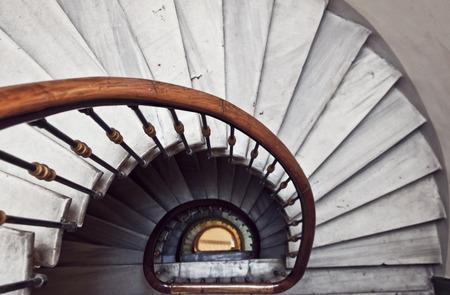 Spiral stairway photo