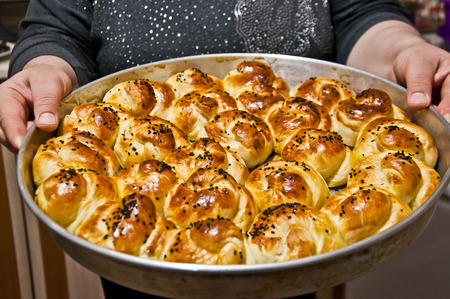 turkish bread: Homemade pastry