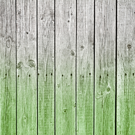 black hole: Green painted wooden texture