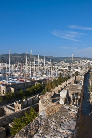 view from Bodrum, popular touristic destination on Aegean cost of Turkey photo