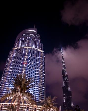 world's: FEB 27, 2013 - UAE  World s tallest building  Burj Khalifa  located in downtown Dubai, United Arab Emirates, taken in 2013