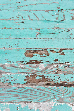 Grungy wooden panels with peeled paint layer Stock Photo - 25632138