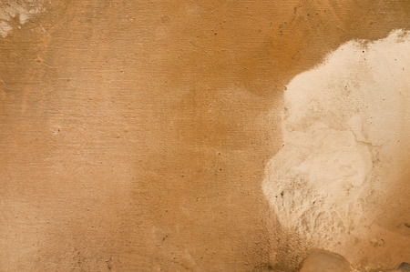 Brown painted canvas background photo
