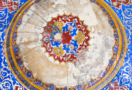 constantinople: Architectural detail from the New Mosque or Yeni Camii in Eminonu area, Istanbul