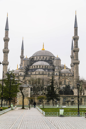 architectural heritage: Sultanahmet or the Blue Mosque, Istanbul, Turkey