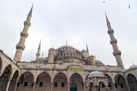 Sultanahmet or the Blue Mosque, Istanbul, Turkey photo