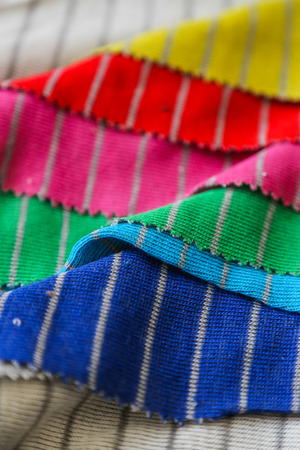 Colorful textiles photo