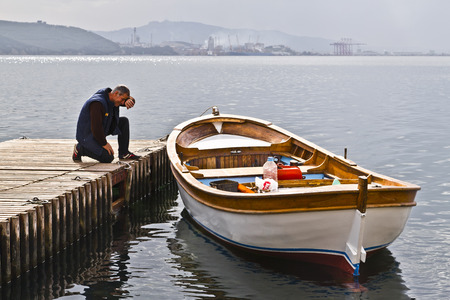 Fishery in Gemlik, Bursa, Turkey