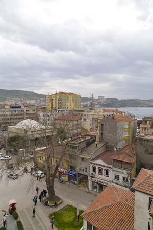 Gemlik Town, Bursa - Turkey   APRIL 04, 2014